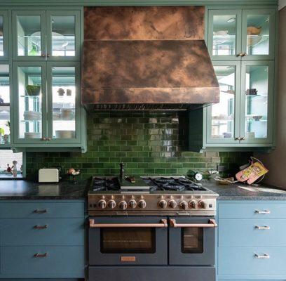 Blue star kitchen range