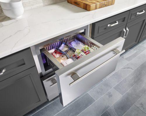 Tru under-counter drawer